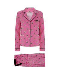 Juicy Couture - Pink Kitty Pyjama Set - Lyst