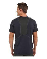 The North Face - Blue Kilowatt Short Sleeve Crew Shirt for Men - Lyst