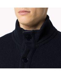 Tommy Hilfiger - Blue Wool Blend Cardigan for Men - Lyst