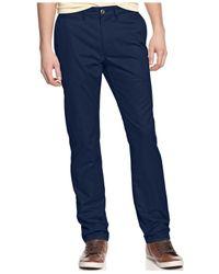 American Rag - Blue Chino Pants for Men - Lyst