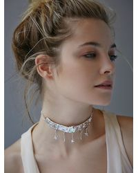 Free People | Metallic Millie Savage Womens Stardust Choker | Lyst