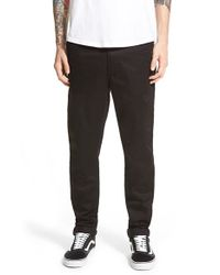 Globe | Black 'union' Twill Chinos for Men | Lyst