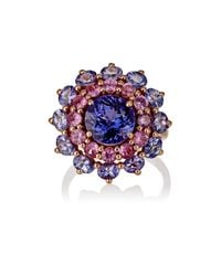 Ileana Makri | Multicolor Women's Lady Blue Ring | Lyst