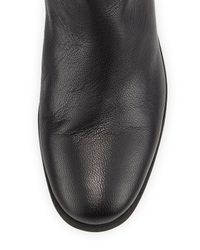 See By Chloé - Black Epona Fringe Over-the-knee Boot - Lyst