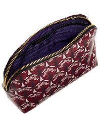 Liberty - Purple Oxblood Makeup Bag - Lyst