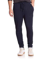 Michael Kors - Blue Look Back Merino Wool Pants for Men - Lyst