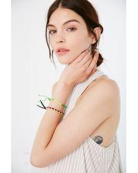 Urban Outfitters - Green Friendship Bracelet Set - Lyst