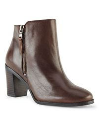 Pink Pony - Brown Carlene Vachetta Ankle Boot - Lyst