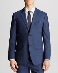 Theory | Blue Wellar Tovare Sport Coat - Slim Fit for Men | Lyst