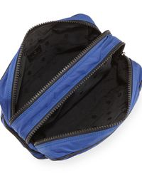 Moncler - Blue Quilted Nylon Travel Kit - Lyst
