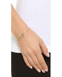 KENZO | Metallic Tassel Tiger Bracelet - Gold | Lyst