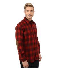 Pendleton | Red Long Sleeve Trail Shirt for Men | Lyst