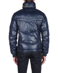 DIESEL | Blue Down Jacket for Men | Lyst