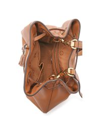Tory Burch - Brown Thea Bucket Bag - Bark - Lyst