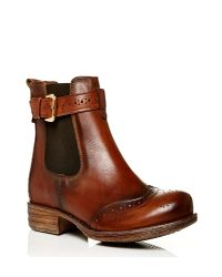 Moda In Pelle | Brown Calisee Low Casual Short Boots | Lyst