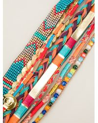 Hipanema - Multicolor Aztec Bracelet - Lyst