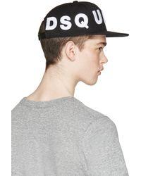 DSquared² | White Baseball Cap for Men | Lyst