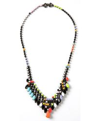 Tom Binns | Black 'de Stijl' Necklace | Lyst