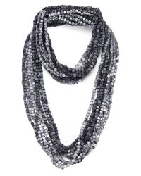 Jianhui | Gray Pashmina Chain Necklace | Lyst
