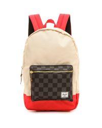 Herschel Supply Co. - Multicolor Settlement Backpack - Black Checkerboard - Lyst
