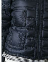 Moncler - Blue Lissy Quilted Jacket - Lyst