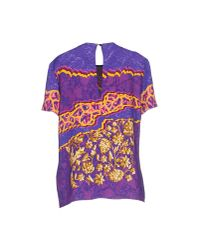 Peter Pilotto - Purple Blouse - Lyst
