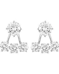 Swarovski | Metallic Attract Earring Jackets | Lyst
