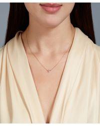 Astley Clarke - Metallic Rose Gold Little Star Pendant Necklace - Lyst
