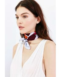 Urban Outfitters | Multicolor Silky Square Scarf | Lyst