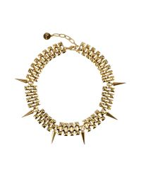 Ela Stone | Metallic Necklace | Lyst