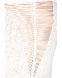 Forever 21 - Natural Easy Shredded Sweater - Lyst