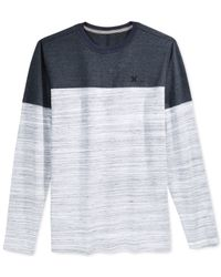 Hurley | Blue Sea's Edge Long-sleeve T-shirt for Men | Lyst