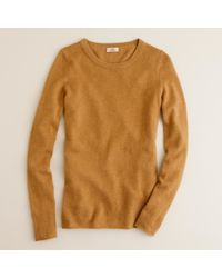 J.Crew | Brown Collection Cashmere Long-Sleeve Tee | Lyst