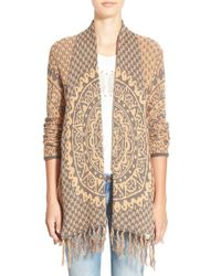 Rip Curl | Orange 'celestial' Cardigan | Lyst