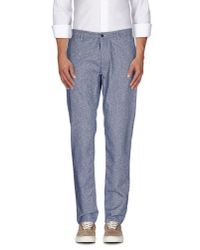 Cruna - Blue Casual Trouser for Men - Lyst