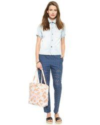 See By Chloé | Natural Gimmick Medium Shopping Bag - Nougat | Lyst