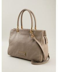 8d677c7bea12 Marc By Marc Jacobs Too Hot To Handle Bentley Tote in Natural - Lyst