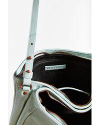 Silence + Noise - Blue Double Zip Shoulder Bag - Lyst