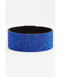 Natasha Couture | Blue 'Dynasty' Magnetic Cuff Bracelet | Lyst