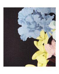 Erdem - Black Allegra Floralprint Jersey Dress - Lyst