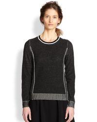 Rag & Bone - Black Taylor Sporty Pullover - Lyst