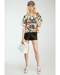 Forever 21 | Multicolor Obsessed Floral Sweatshirt You've Been Added To The Waitlist | Lyst