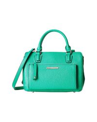Nine West Green Zip And Go Medium Satchel