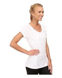 PUMA | White V-neck Multi Tee | Lyst