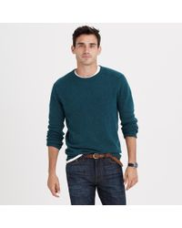 J.Crew | Blue Softspun Sweater for Men | Lyst