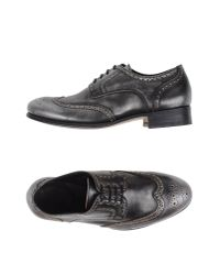 NDC | Gray Lace-up Shoe | Lyst