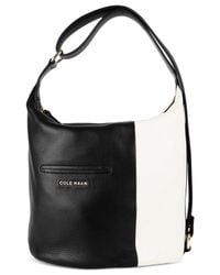 Cole Haan | Black Omega Large Hobo | Lyst