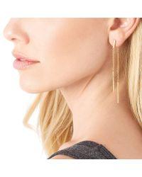 Gorjana - Metallic Mave Double Drop Earrings - Lyst