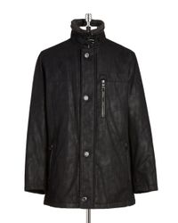 Bugatti | Gray Knit-collared Parka for Men | Lyst