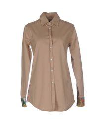 Macchia J - Brown Shirt - Lyst